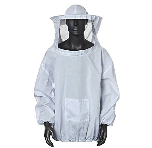 Cosmos Home Bee Keeping Suit Jacket Veil and Bee Hat Dress Smock Equip Protection Smock Protective Equipment