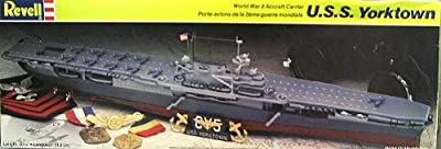 Revell U.S.S. Yorktown World War Ii Aircraft Carrier Model Kit
