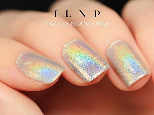 Amazon.com : ILNP MEGA - 100% PURE Ultra Holographic Nail Polish ...