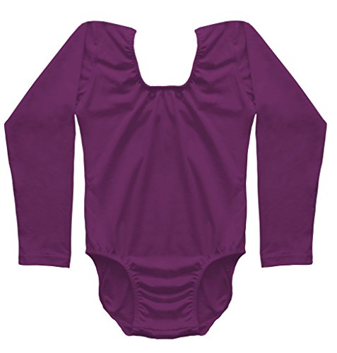 Dancina-Girls-Leotard-Classic-Long-Sleeve-Cotton-and-Spandex