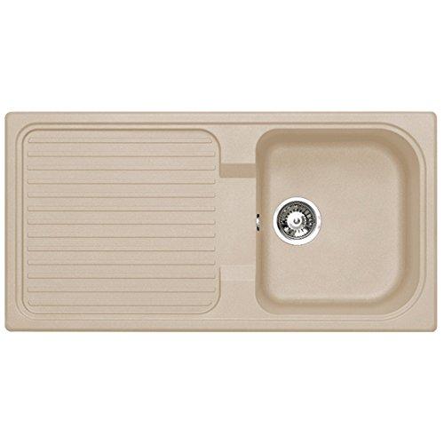 Astracast 1.0 Bowl Composite Kitchen Sink in Sahara Beige ...