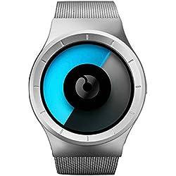ZIIIRO x Sportique Celeste Ltd. Watch - Chrome Mono