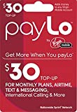 virgin mobile card top up - PayLo by Virgin Mobile - $30 PayLo Top-Up Card