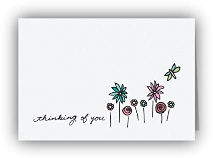 Amazon dragonfly in the garden thinking of you cards 24 dragonfly in the garden thinking of you cards 24 cards envelopes m4hsunfo