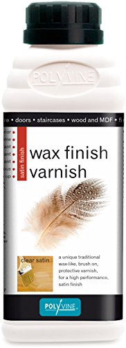 (Polyvine Wax Finish Varnish Satin 500ml)