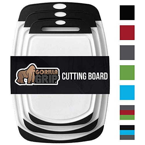Best plastic cutting boards for kitchen large list