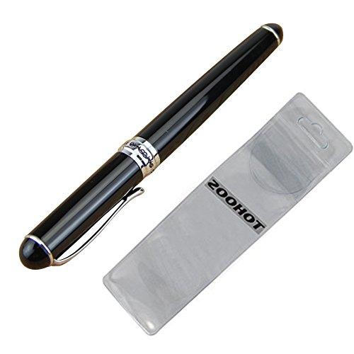 Zoohot Jinhao X750 Deluxe Black Fountain Pen Medium Nib