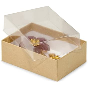 Amazon pack of 100 3 x 225 x 1 clear lid display boxes w pack of 100 3 x 225 x 1 clear lid display boxes w m4hsunfo
