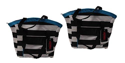 Thermos Brand Insulated Black Stripe