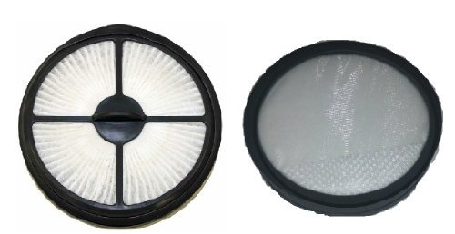 (Hoover 303903001 & 303902001 WindTunnel Air Bagless Upright Filter Kit, fits UH70400 & UH70405 Models)