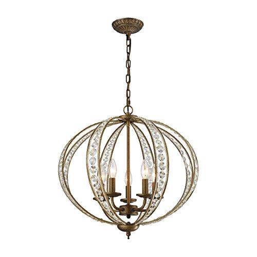 ELK Lighting 15965/5 Chandelier, One Size, Bronze