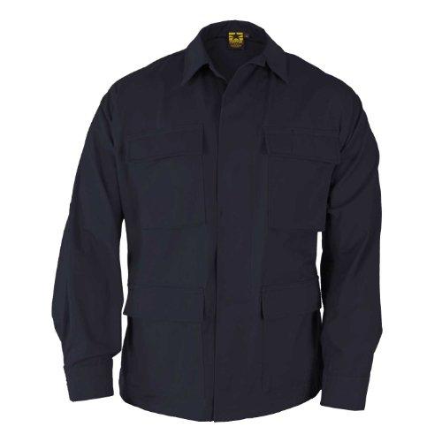 Propper Men's Bdu Coat - 100% Cotton, Dark Navy, Large Long