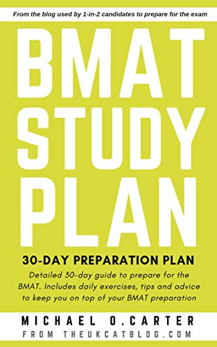 BMAT Study Plan: 30-Day Preparation Plan (English Edition)
