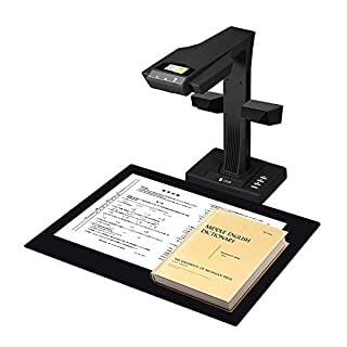 "CZUR Professional Document Scanner ET18-P, Fast Recognition Scanner, 18MP High Definition, A3 Size Capture, 186 Languages OCR, Patented ""Laser-Based Image Flattening"" Technology"