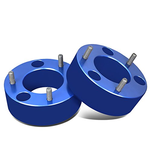 For Ford F150 Pair of Blue Front 3 inches Strut Top Mount Leveling Lift Kit Spacers