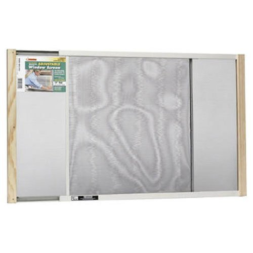 Expandable Window Screen - Frost King WB Marvin AWS1845 Adjustable Window Screen, 18in High x Fits 25-45in Wide