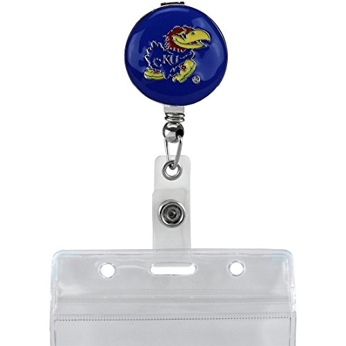 SANDOL Kansas Jayhawks Retractable Badge Reel