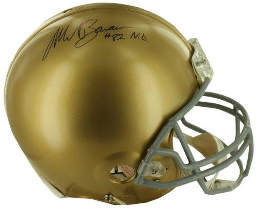Notre Dame Autograph Football Helmet