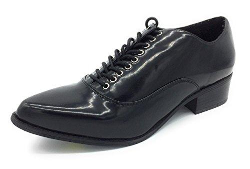 New Look , Chaussures de ville à lacets pour femme noir noir