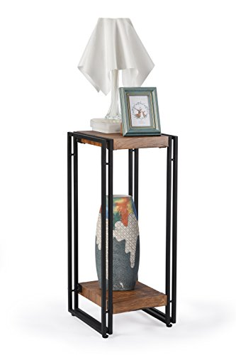 Fivegiven tall side end table for small spaces narrow - Narrow side tables for living room ...
