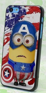 Coque Iphone 5C Captain Minion