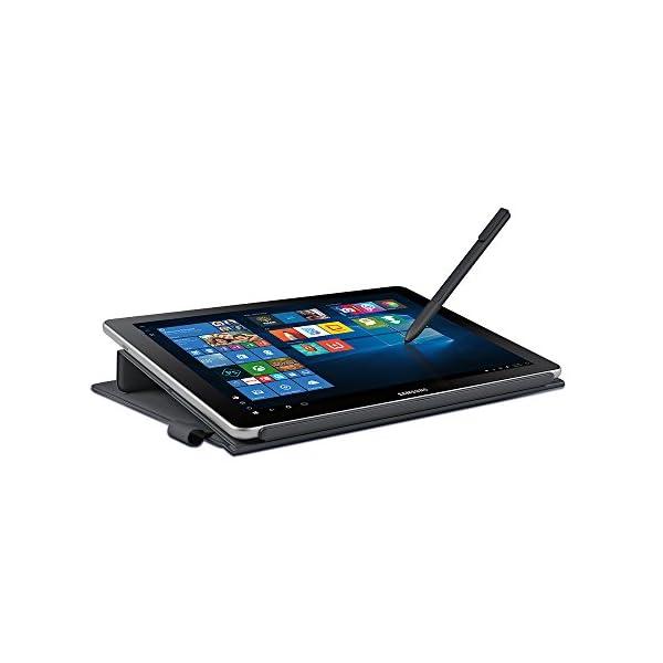 """Samsung Galaxy Book 10.6"""" Windows 2-in-1 PC (Wi-Fi) Silver, 4GB RAM/64GB storage, SM-W620NZKBXAR 2"""
