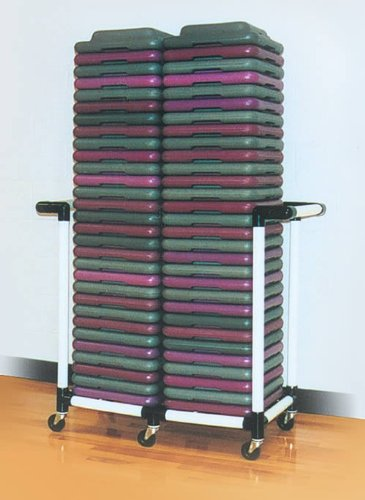 Health Club Step Riser Cart by DuraCart