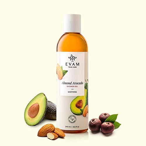 Evam Almond Avocado Shower Gel