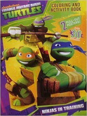 Nickelodeon Teenage Mutant Ninja Turtles Coloring And ...