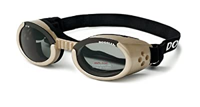 Doggles ILS Small Chrome Frame and Smoke Lens from Doggles, LLC