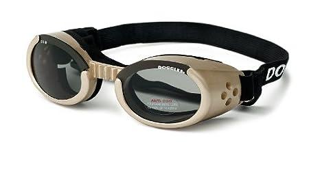 cbe188ba4f Amazon.com   Doggles ILS Small Chrome Frame and Smoke Lens   Pet Sunglasses    Pet Supplies