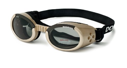 Doggles ILS Small Chrome Frame and Smoke Lens by Doggles