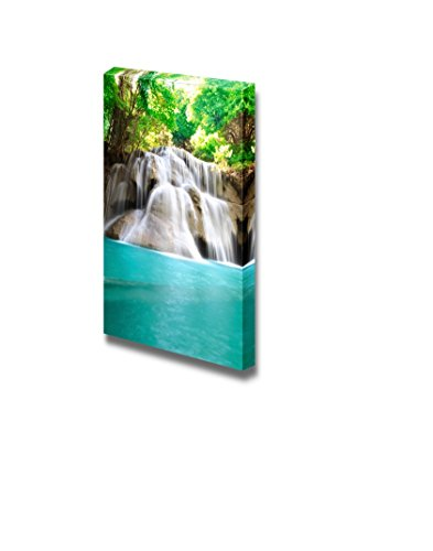 Beautiful Scenery Landscape Water Fall Hua Mae Kamin Kanchanaburi Thailand Wall Decor ation