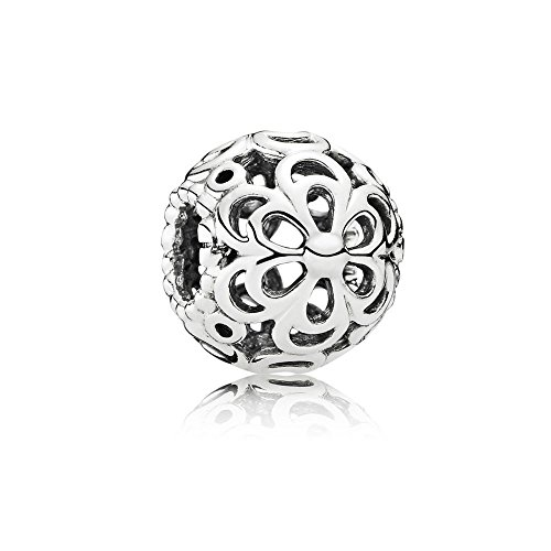 Pandora Women's Genuine Sterling Picking Daisies Charm 790965, (Authentic Pandora Bead)