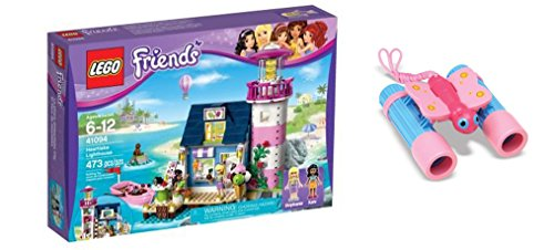 LEGO Friends Heartlake Lighthouse 473 Pcs & free Gifts Sunny Patch Bixie Butterfly Binoculars (Colors may vary) Toys (Stephanies Bakery Stand compare prices)