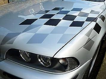 Amazon.fr : BMW M sport style GRIS drapeau à carreaux ...