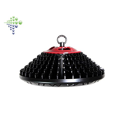 OOFAY 150W UFO LED High Bay Lighting Warm White(3000k) 60 Beam Angle Chip Type Free Drive Pendant Lights