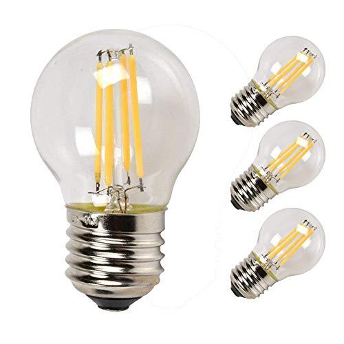 Edison Vintage 110v E26 E27 A19 A60 40w 60w Equivalent: Compare Price To Led Light Bulb Low Profile