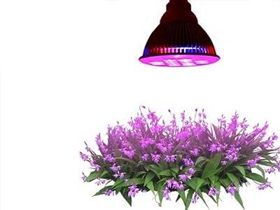 LT Nichalo E27 Full Spectrum 24W LED Growing Plant Light Bulb for Indoor Garden Seedlings Vegatables and Hydropoics Plants