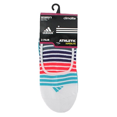 Adidas Women's Superlite 3-Pair Ped Sock