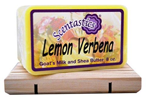 Scentastics Goat's Milk and Shea Butter Lemon Verbena Soap (8 oz. bar)