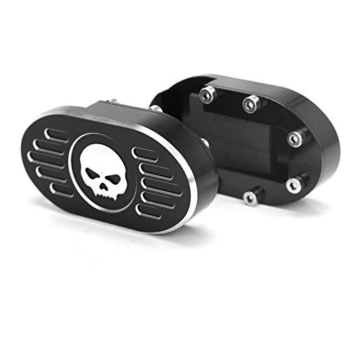 WinllyAT Special Cut Gril CNC Billet Brake Pedal Pad Cover For Harley Dyna Wide Glide V-Rod Sportster XL 883 1200