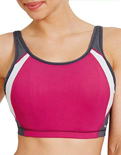 Freya 3992 Active Underwired Swim Bikini Crop Top Virtual Pink 34G