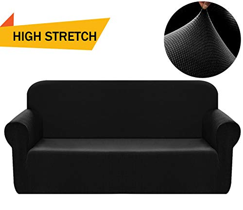 Chelzen Stretch Sofa Covers 1-Piece Polyester Spandex Fabric Living Room Couch Slipcovers (Sofa, ()