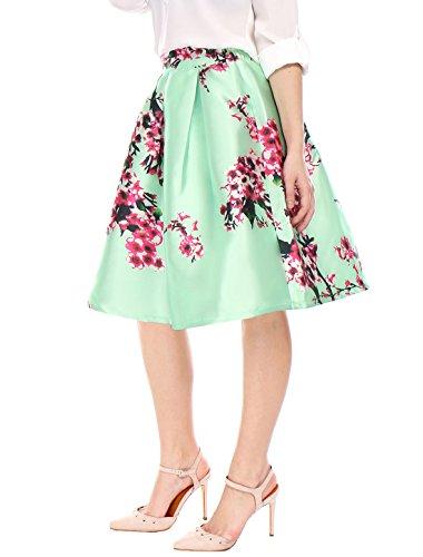 K Plissettato Gonna Green Donna Allegra Hqf08dnO8