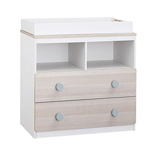 Changing Dresser (Novogratz Prism Changing Table, White)