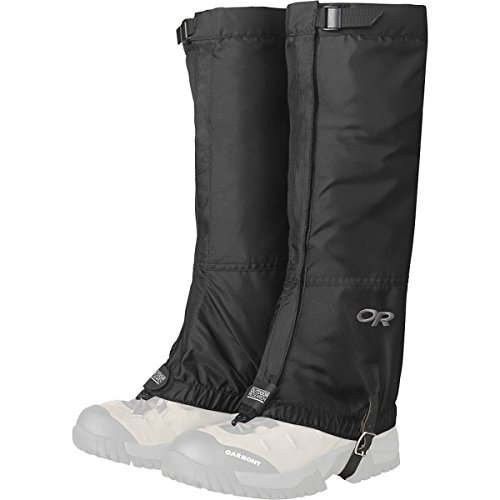 Outdoor Research Men's Rocky Mountain High Gaiters, Black, X-Large
