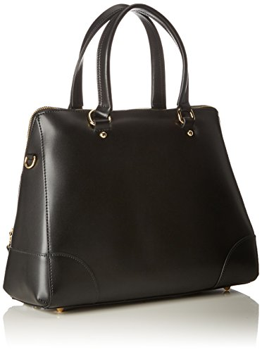 Twin Set As8pmb, Borsa a Spalla Donna, Nero, 14x35x27 cm (W x H x L)