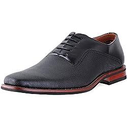 Ferro Aldo Mens lalo Oxford Dress Shoes | Comfortable Dress Shoes | Formal | Lace-Up | Classic Design | Black 9
