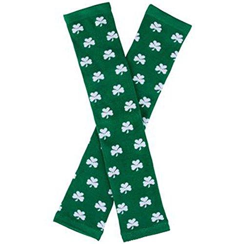 with St. Patrick's Day Socks design